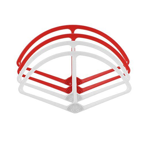 uxcell 9 Prop Protector Guard Bumper Set Red White for DJI Phantom 2 Vision >>> You can get additional details at the image link. This is Amazon affiliate link.