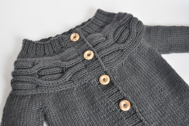 Finally sharing my beautiful baby Caribou – design by Tin Can Knits