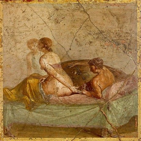 Pompeii exhibition: 50 shades of Pompeii?  Discoveries of erotic paintings and artefacts have given the cities a distinctly racy reputation. But is this deserved, asks Joanne Berry ahead of the 'Life and Death in Pompeii and Herculaneum' exhibition at the British Museum