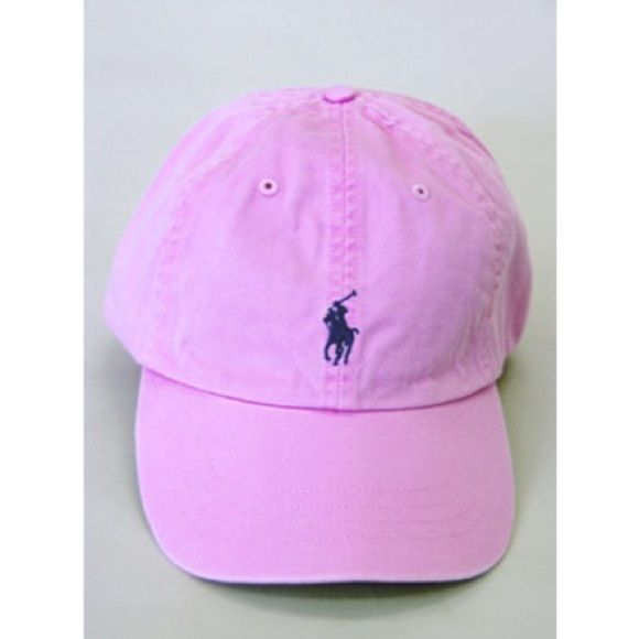 ISO Pink Polo baseball hat I've been looking for this particular pink polo hat for forever now! If anyone is selling it or knows someone who's selling it, please lemme know!! Polo by Ralph Lauren Accessories Hats