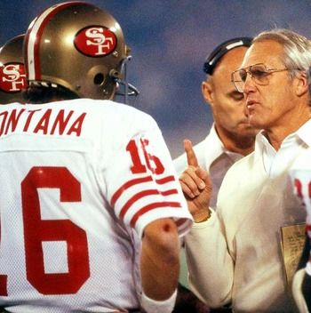 Bill Walsh the creator of the West Coast Offense.