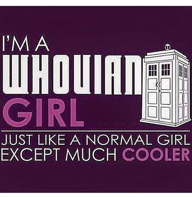 Doctor Who Fangirl