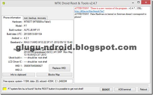 Download MTK Droid Tool Semua Versi Lengkap Terbaru