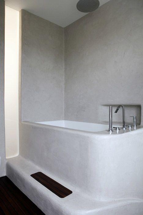 Indulgent Moroccan Plaster Bathroom | Decor Tadelakt
