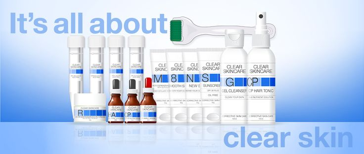 The clearkincare product range - It's all about clear skin
