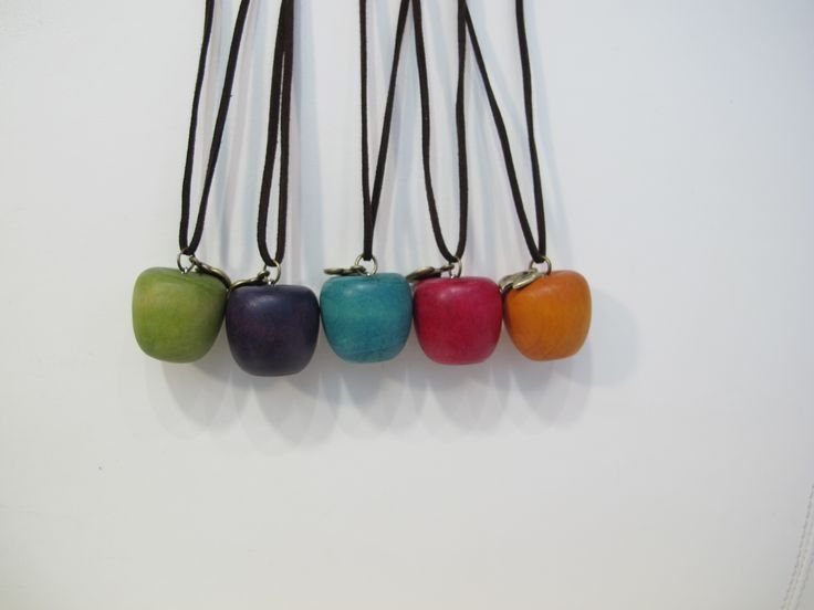 Apple necklaces!
