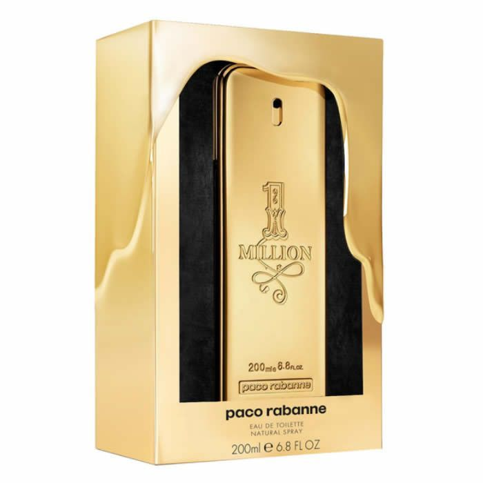 Paco Rabanne 1 Million Eau De Toilette Vaporisateur 200ml Collector Edition 2017