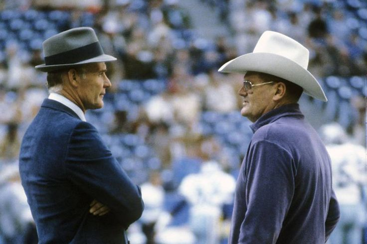 Tom Landry & Bum Phillips (great picture and memories)