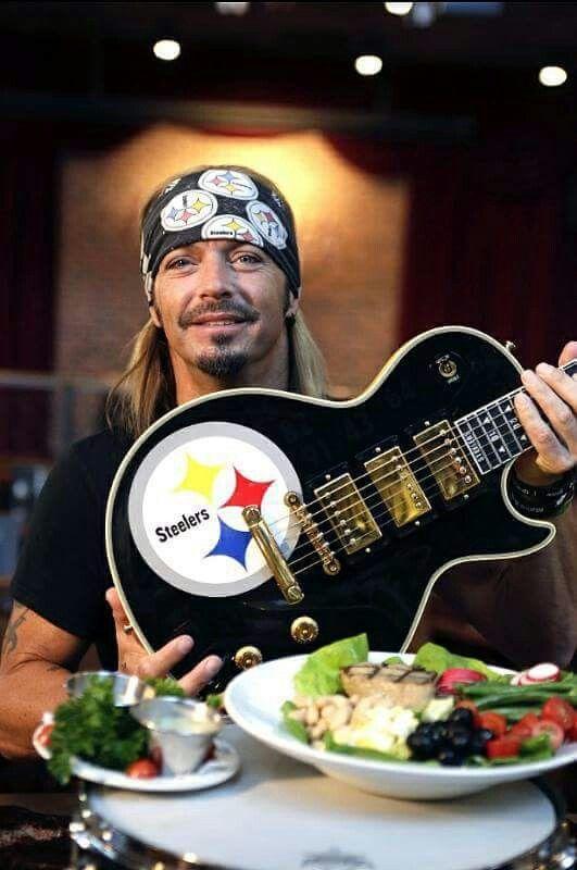 Bret Michaels is a Pittsburgh Steelers Fan!!!
