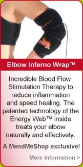 Inferno Wrap Elbow for tennis elbow, epicondylitis, elbow strains and elbow sprain