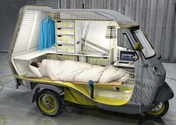 Piaggio - Camping !!!