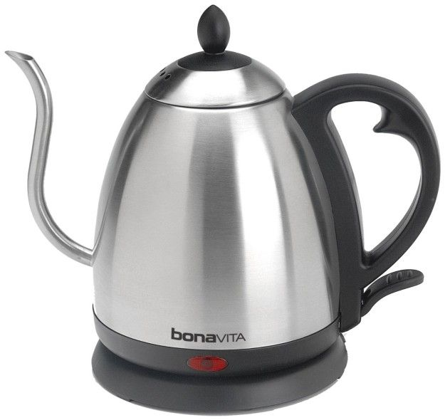 This Bonavita gooseneck kettle for careful pour-overs. | 29 Awesome Coffee Products That You'll Wish You Knew About Sooner