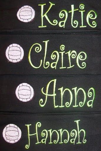 Image detail for -Volleyball Headband-embroidered, headband, head, hair, volleyball ...