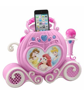 "Disney Princess Enchanting Sing-Along MP3 Boombox - eKids - Toys ""R"" Us"