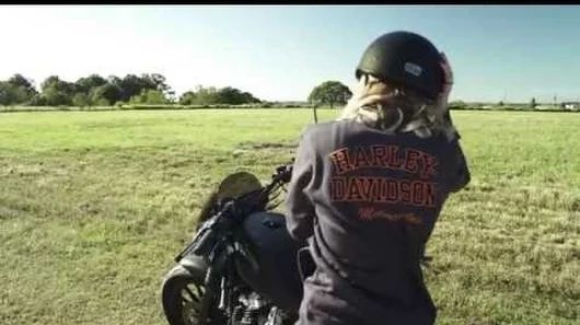 Harley Davidson Catalog Shoot with Leticia Cline, Jason Paul Michaels and Grain & Glass