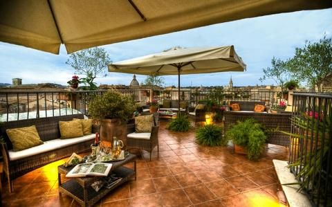 Top 10: hotels in Rome city centre
