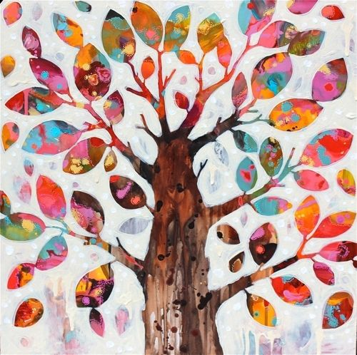 Love Tree II- Rosetta Santucci- so decorative!