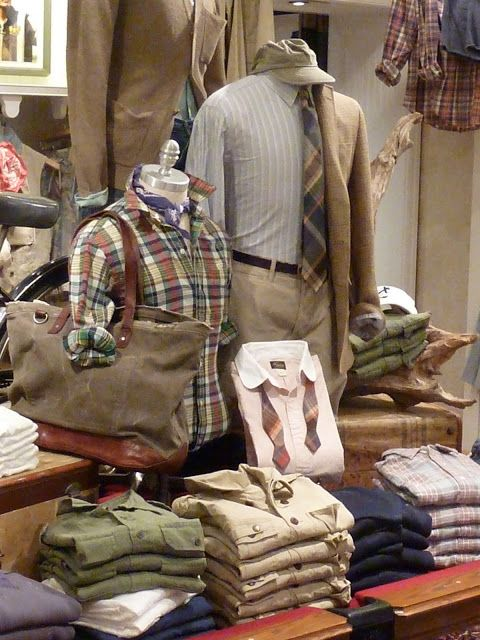 Best 25 Mens Store Display Ideas On Pinterest Country
