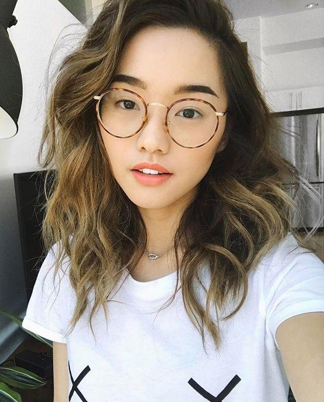 Maquiagem, Estilo Asiático, Inspiração De Estilo, Inspiração Para  Personagens, Óculos, Óculos bfe668fb0e