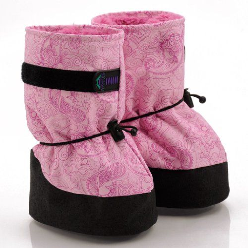 Amazon.com: Molehill Kid's Shelled Snow Mocs w/ Fur Lining, Digital Blue, Large (Toddler+): Shoes