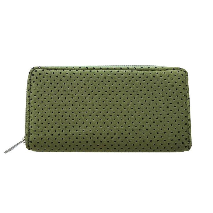 Punch | Neoprene Wallet in Khaki Green