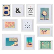 Arden Frame Set of 10 | Freedom Furniture and Homewares