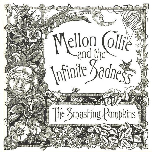 John Craig, illustration for The Smashing Pumpkins, Mellon Collie and the Infinite Sadness, 1995.