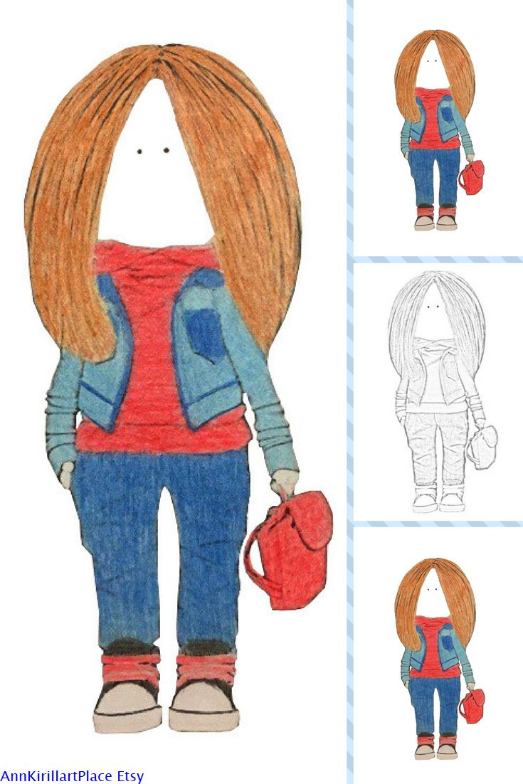 Childrens coloring sheet of a rag doll - Art Doll Coloring Book Tilda Doll Adult Coloring Handmade Doll Art Coloring Rag Doll Kids Coloring Fabric Doll Child Coloring Coloring Page