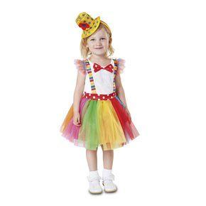 Disfraz de Payasita Tutú Infantil #disfraces #carnaval #novedades2016