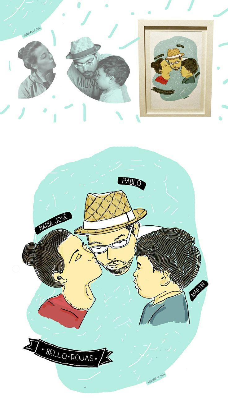 #ilustration #ilustración #draw #dibujo 2014, con cariño para el vecino