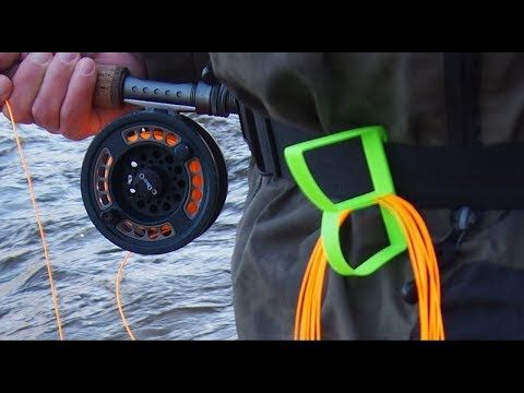 3D printed fly fishing line holder and rod holder - YouTube   fly
