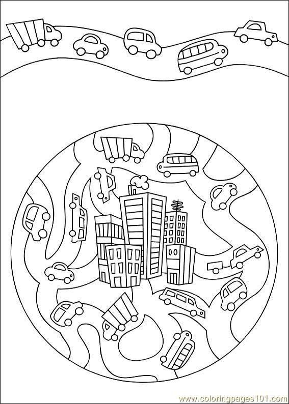 food coloring mandalas   Coloring Pages Mandala 51 (Other > Painting) - free printable coloring ...