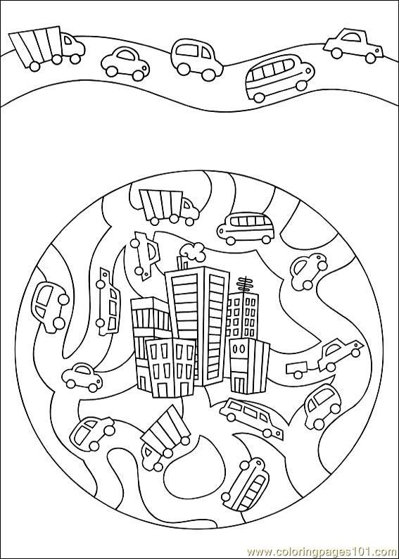 food coloring mandalas | Coloring Pages Mandala 51 (Other > Painting) - free printable coloring ...
