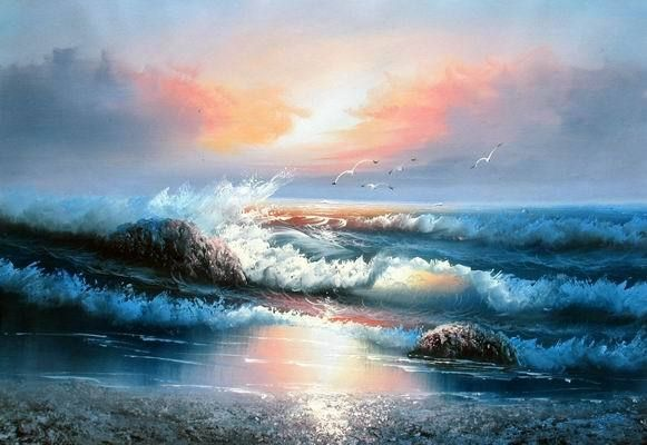 15 best images about pintura praia on pinterest - Como pintar cuadros modernos ...