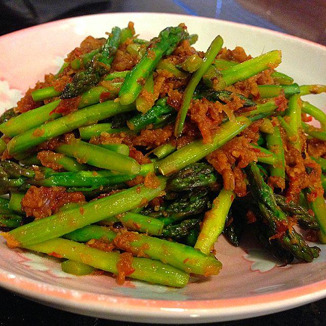 Stir Fry Asparagus with Sambal Recipe - coasterkitchen - Dayre