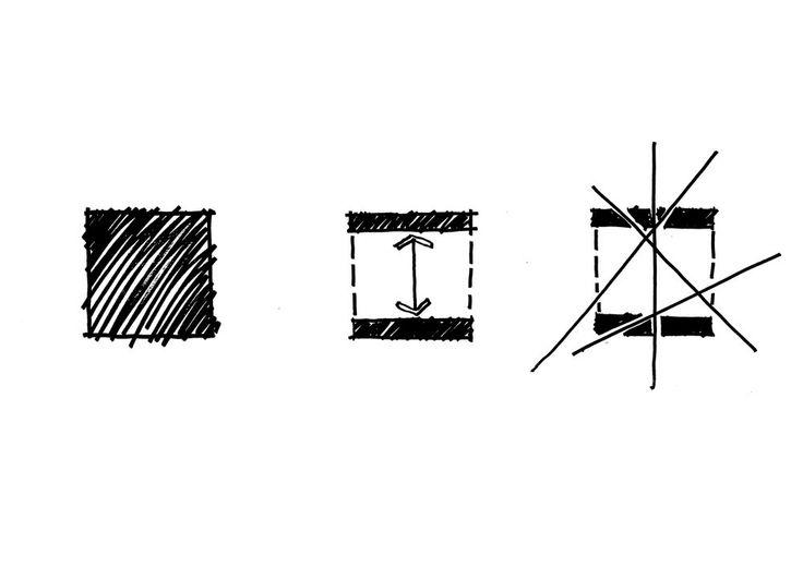 WWI & WWII Memorials Design Sketch | Richard Kirk Architect