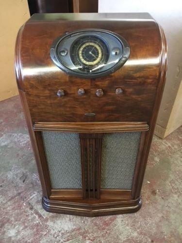 Admiral-387-Console-Radio