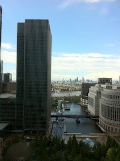 View from the Clifford Chance building: Chances Building