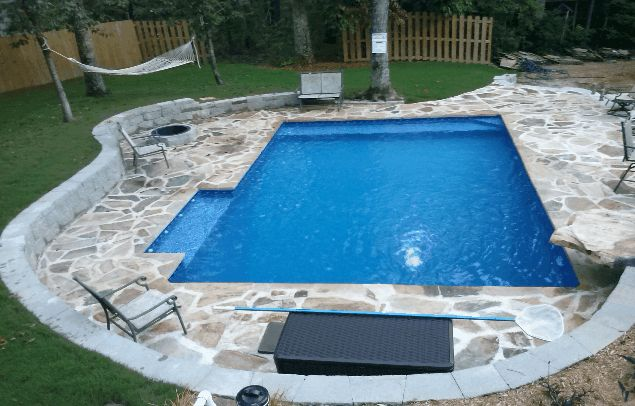 Diy inground pools kits home pinterest for Diy pool house plans