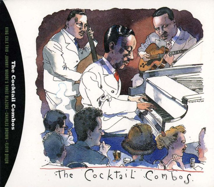 """'The Cocktail Combos"""" by Joe Ciardiello Capitol Blues Collection (1995)"""