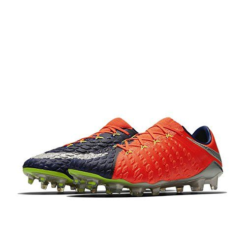 MercurialX Vortex III IC, Chaussures de Football Homme, Orange (Laser Orange/Black/White/Volt/White), 46 EUNike