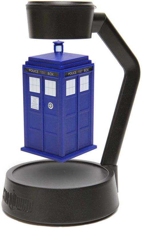 Doctor Who Levitating TARDIS @Sarah Maier This is the spinning TARDIS I was telling you about!