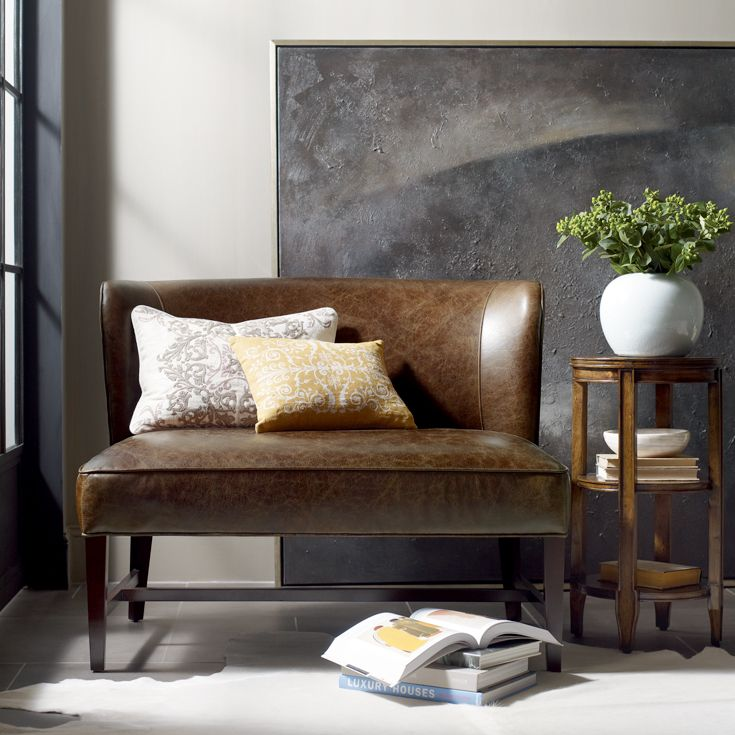 Bernhardt Upholstered Accents Norfolk Settee With Transitional Furniture  Style   Baeru0027s Furniture Part 71