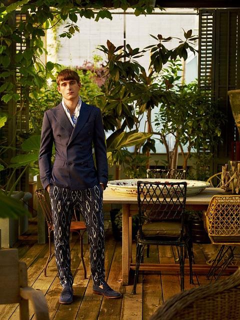 pijama6 by Hombre Chic, via Flickr: Gq Style, Mens Fashion, Colours Interior, Menswear Blue, Italian Gq