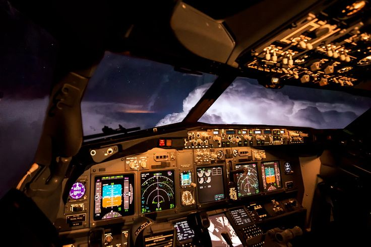 25 Awesome In-Flight Photos Taken by Pilots from the Cockpit