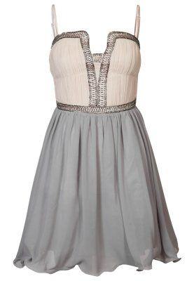 little cocktail dress kleid mit corsage pinkes kleid kleider