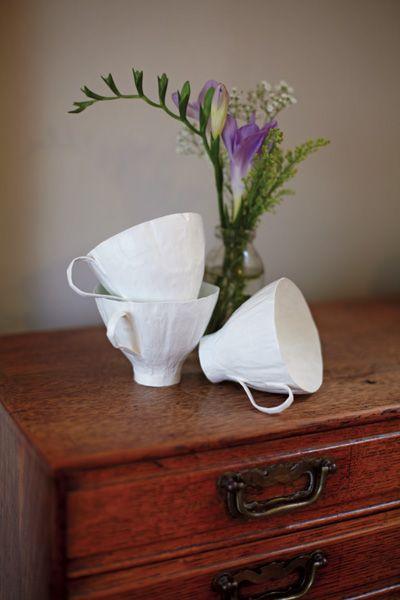 Papier-mâché teacups - Making Magazine - Crafts Institute