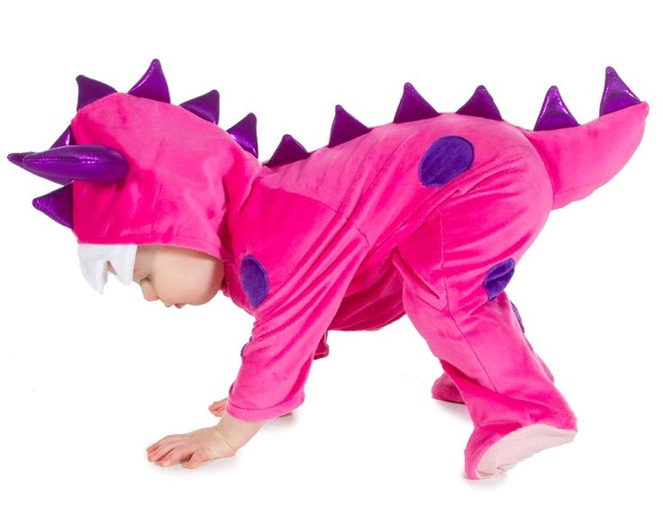 Shop for Pink Monster baby and toddler fancy dress costumes at Totally Fancy. A top quality, super soft 100% polyester velour all in one suit. from Pretend to Bee for babies and toddlers.  Great quality made to last onesie with Rubber grips on feet. All Pretend to Bee Costumes are EN71 Toy Safety Tested. Available in sizes 6-12 Months and  12-18 Months Secure ordering online with Paypal