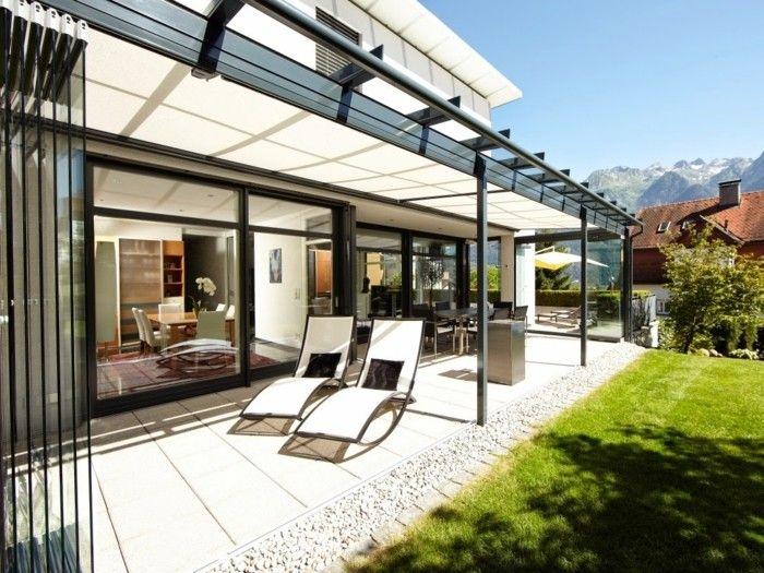 la v randa bioclimatique la meilleure solution en 45 photos maison pinterest veranda. Black Bedroom Furniture Sets. Home Design Ideas