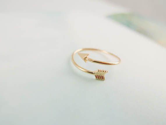 Etsy Arrow Ring